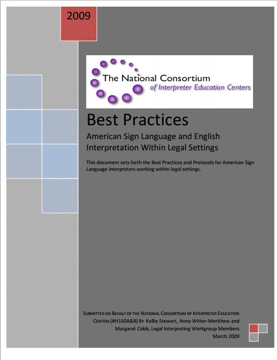 Free e books best practices american sign language and english interpretation within legal settings fandeluxe Choice Image